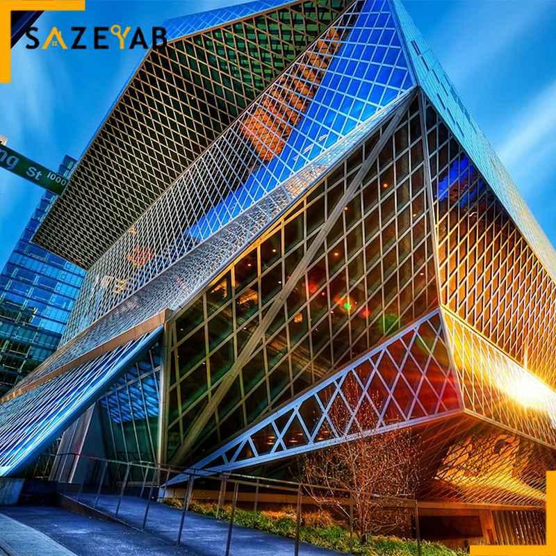 ساختمانهای مدرن در ایران